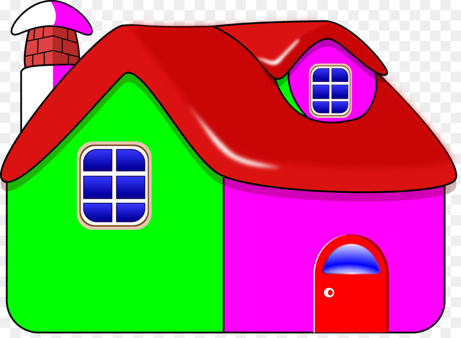 Картинка нарисованного дома для детей