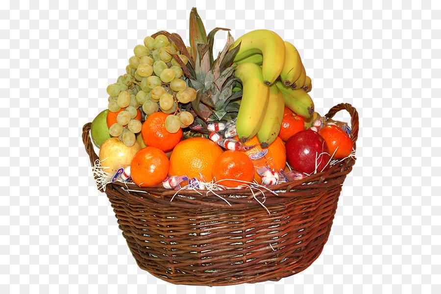 Днем, картинка корзинка с фруктами