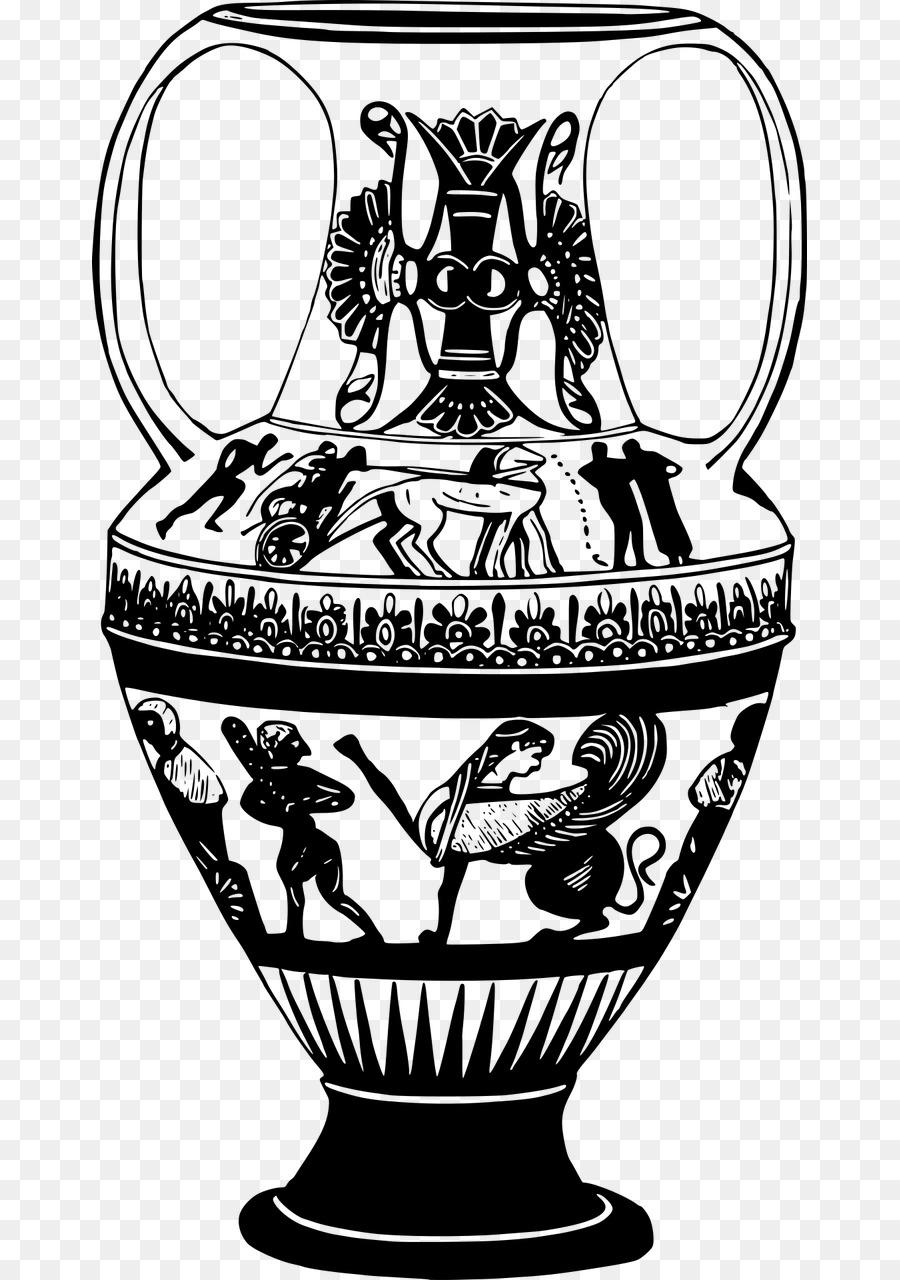 изысканный декор сосудов древней греции рисунки желаем