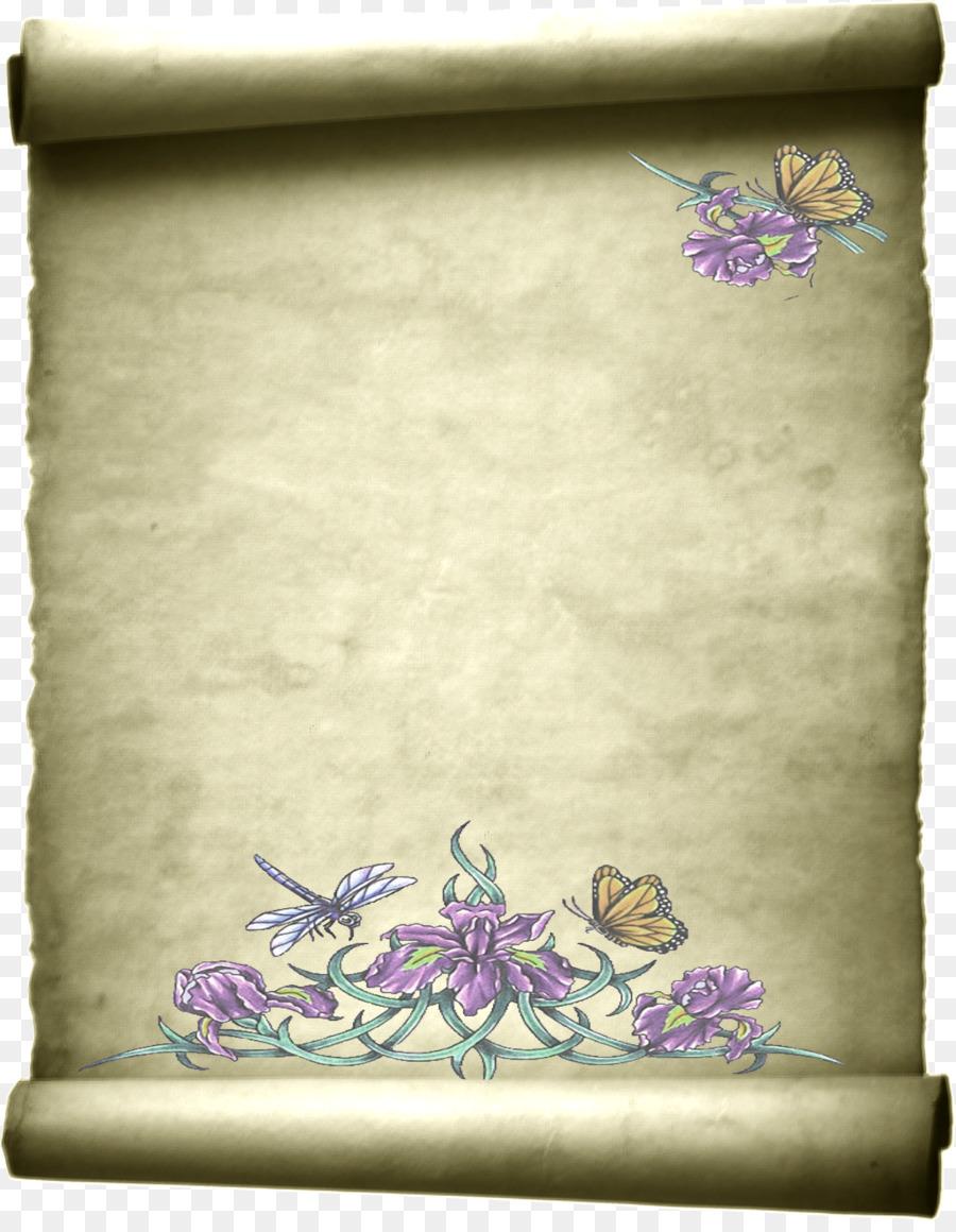 Открытка, пергаментная открытка