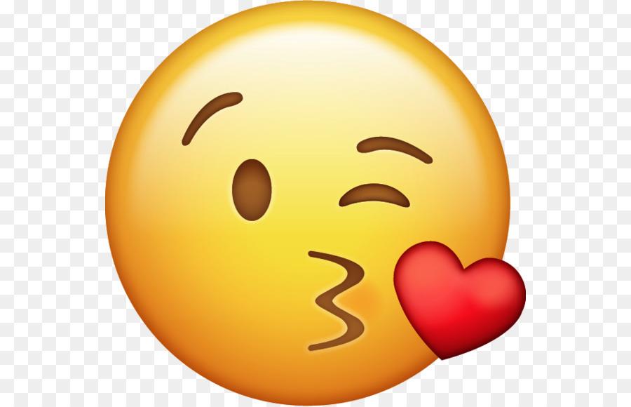 Картинки смайлики с поцелуем