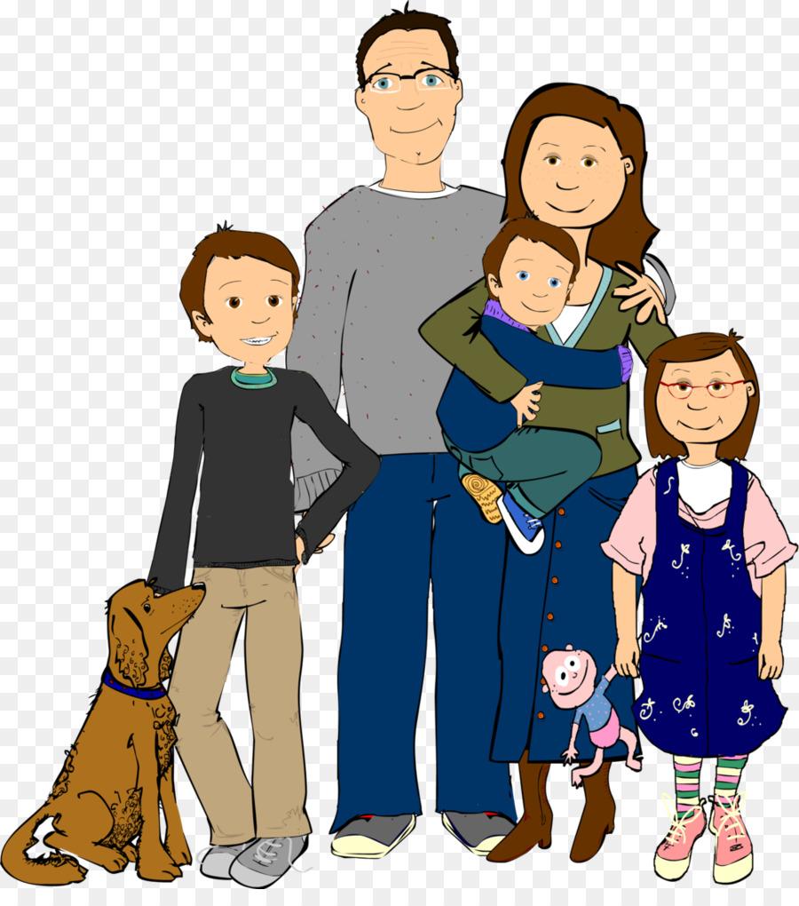 Мультяшные картинки семьи