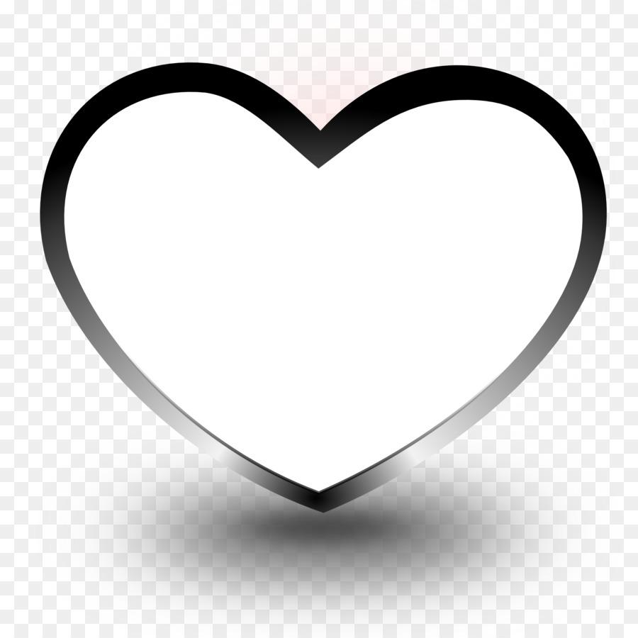 Сердечко черное картинка