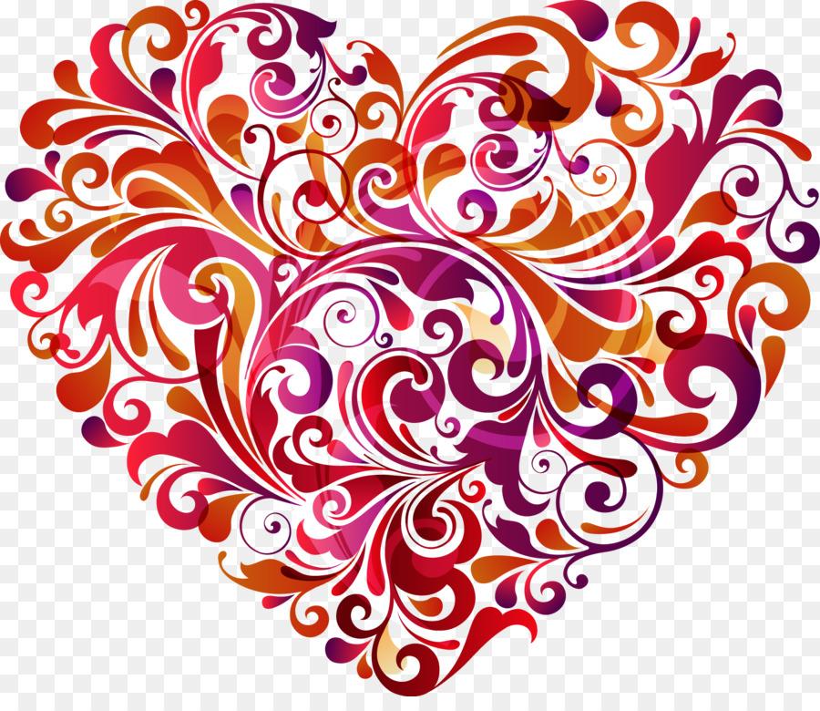 Узоры на сердечках картинки