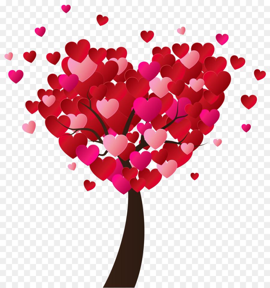 могут картинка дерева с сердечками после