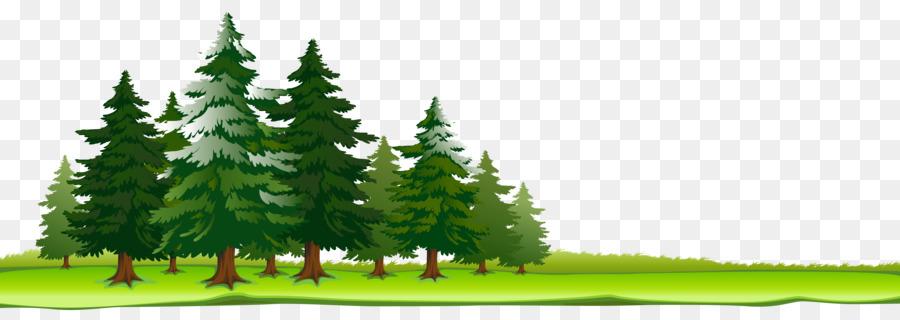 Хвойный лес картинка для детей на прозрачном фоне