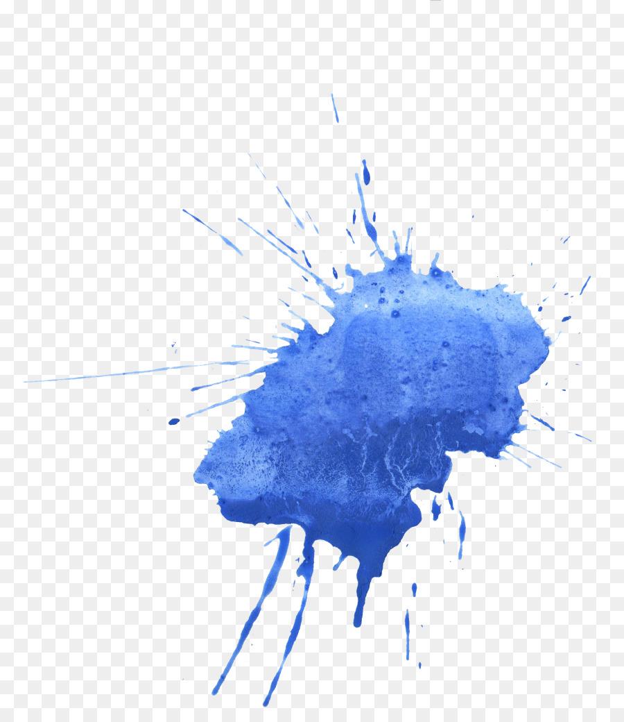 Синяя краска картинки