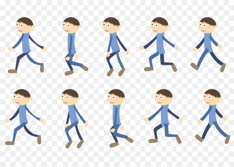 картинки двигающиеся человек