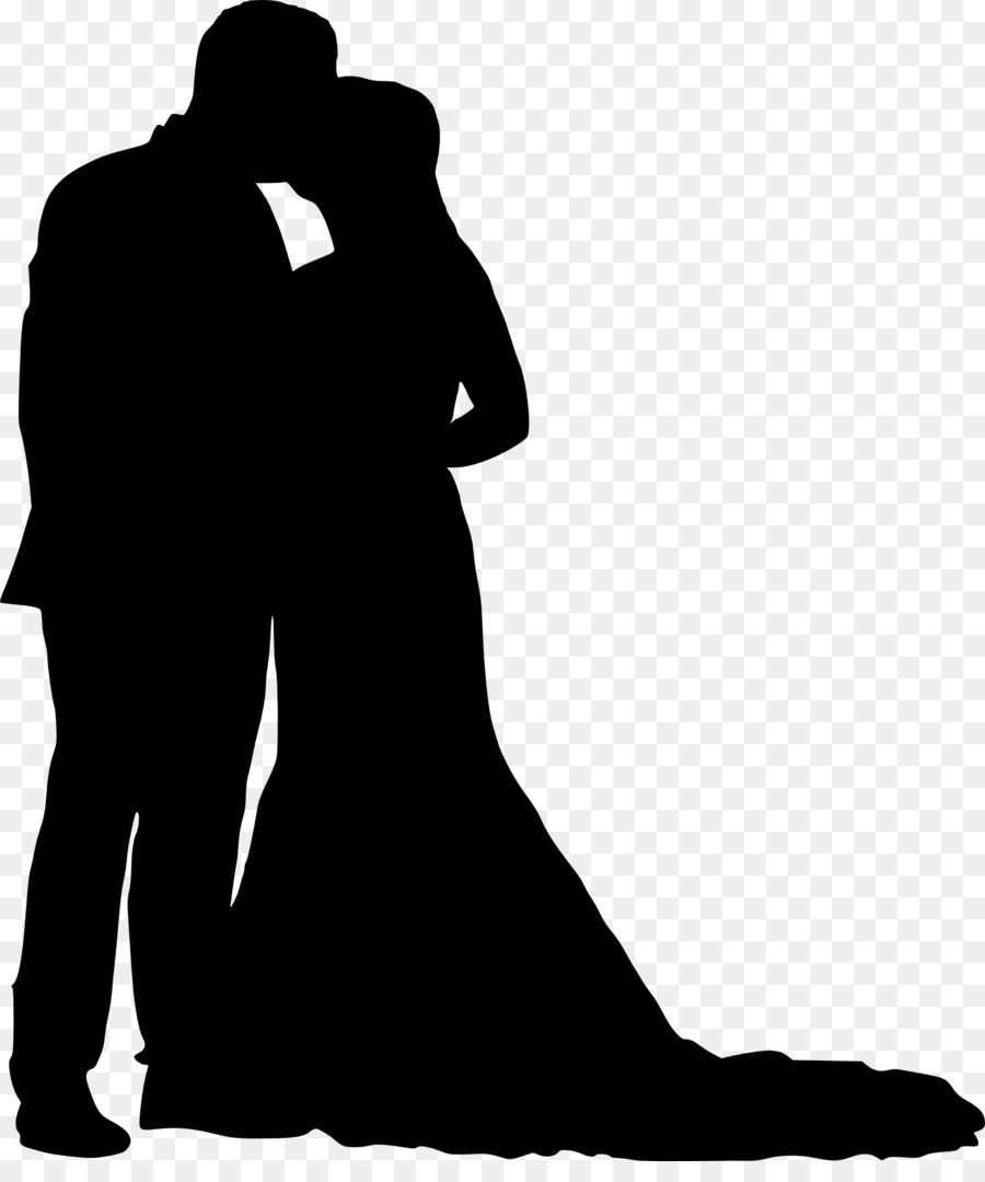 Картинки свадьба силуэт