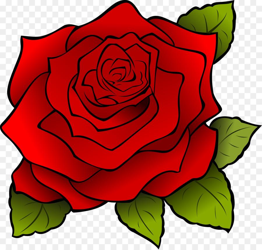 Роза для детей картинки