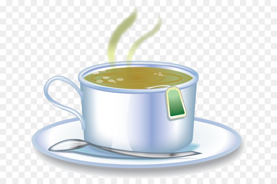 Картинка кружка с горячим чаем