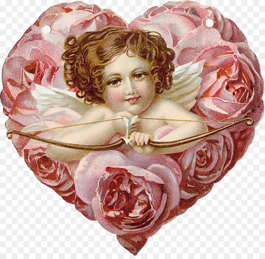 Картинки ангелочки и сердце