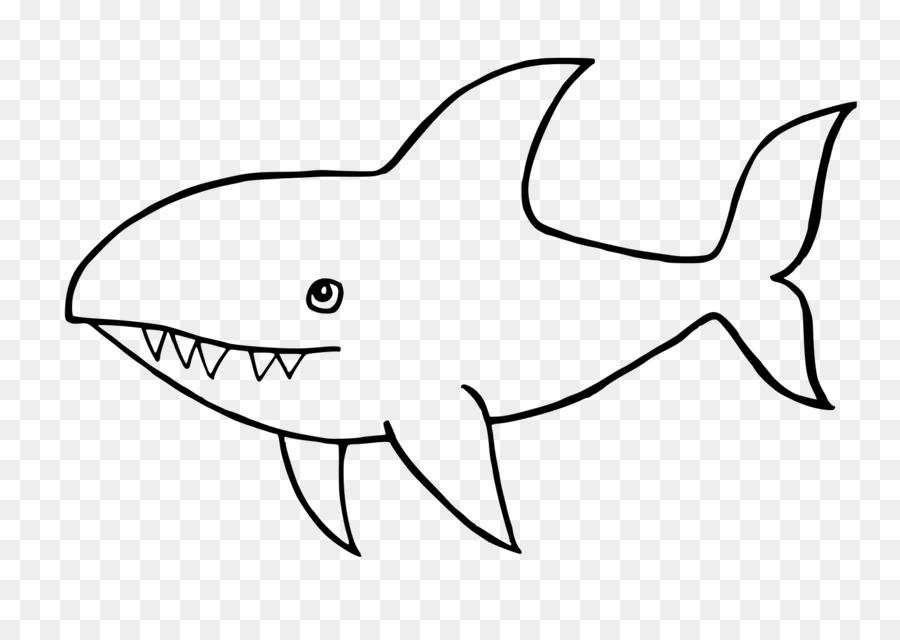 акулы рисунки легкие никогда были