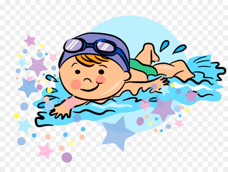 Картинка для детей купаются