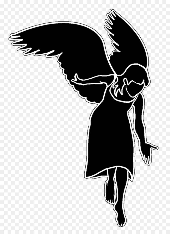 Векторные картинки ангелов с крыльями