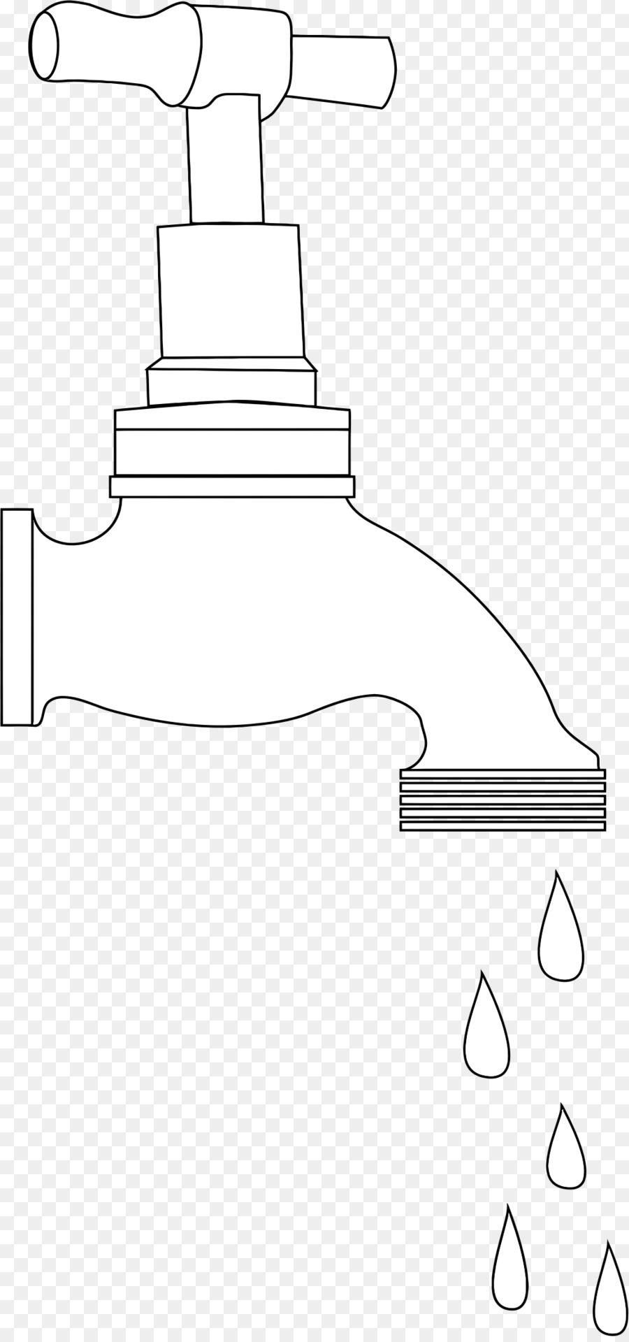 картинки раскраска кран с водой приятного внешнего