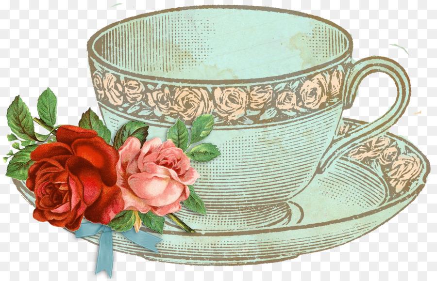 картинки для декупажа чашка с чаем третьего