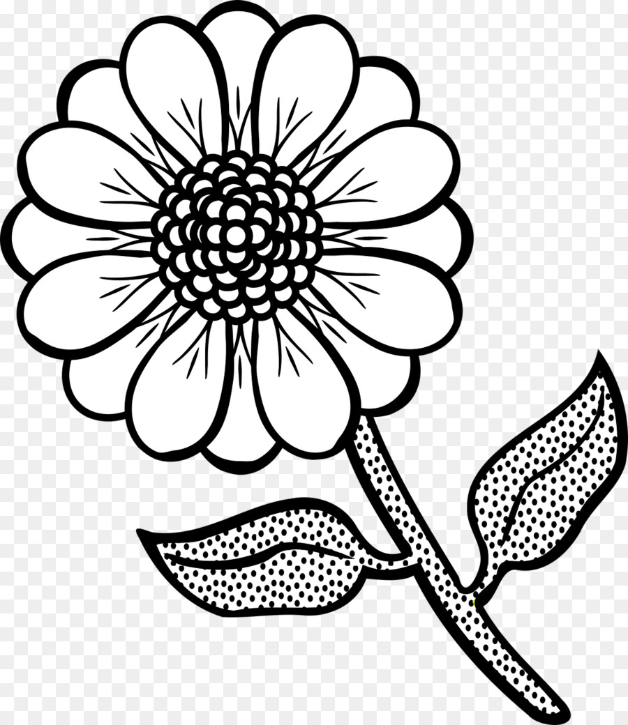 Цветущий цветок рисунок