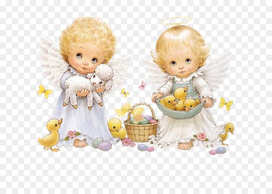 Пасхальные открытки скрапбукинг с ангелами, месяцами