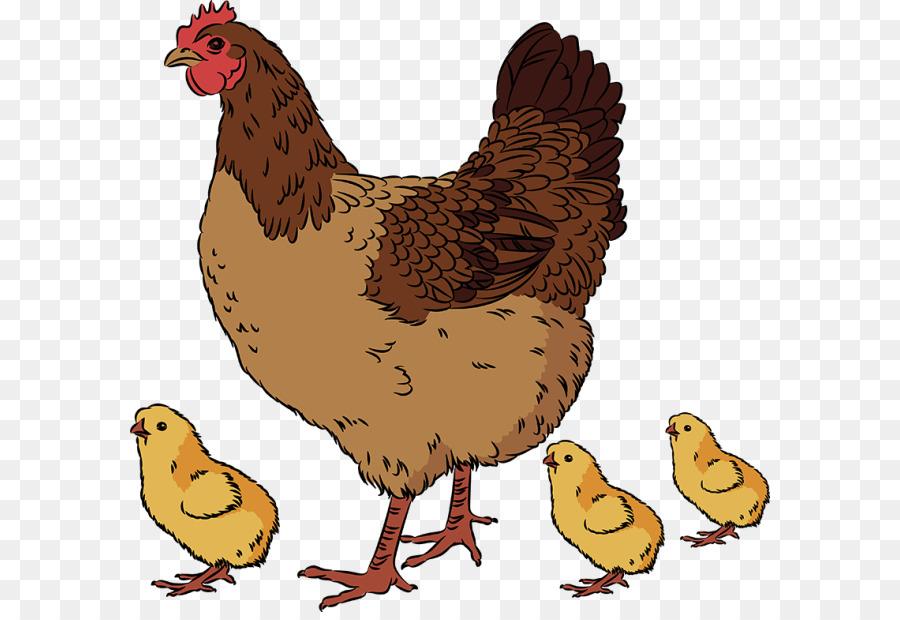 Картинки курица с цыплятами нарисованные