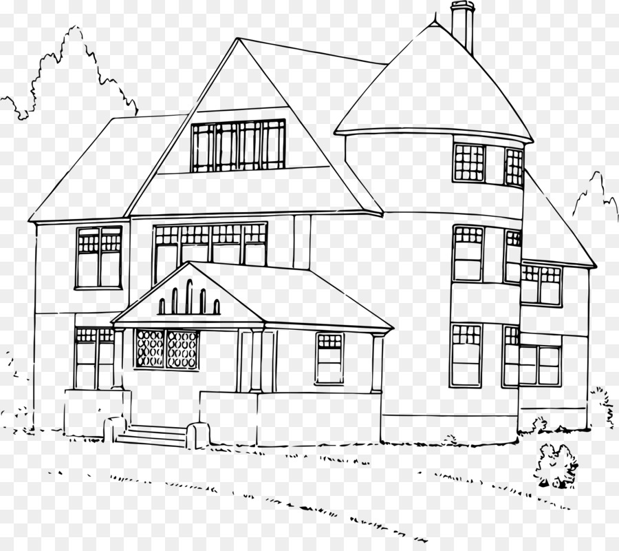 Эскиз дома картинки