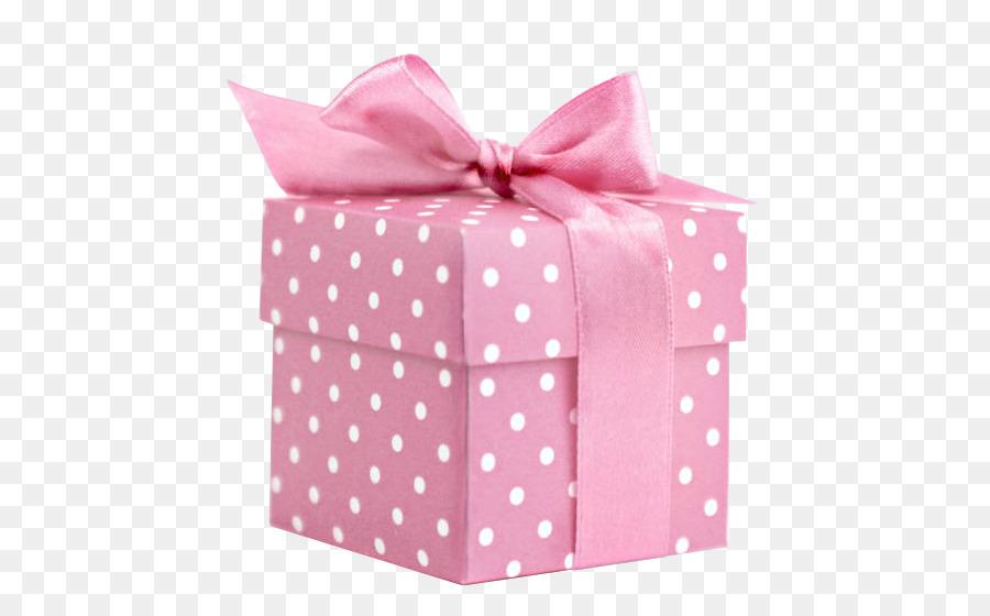 Подарок розовый картинка