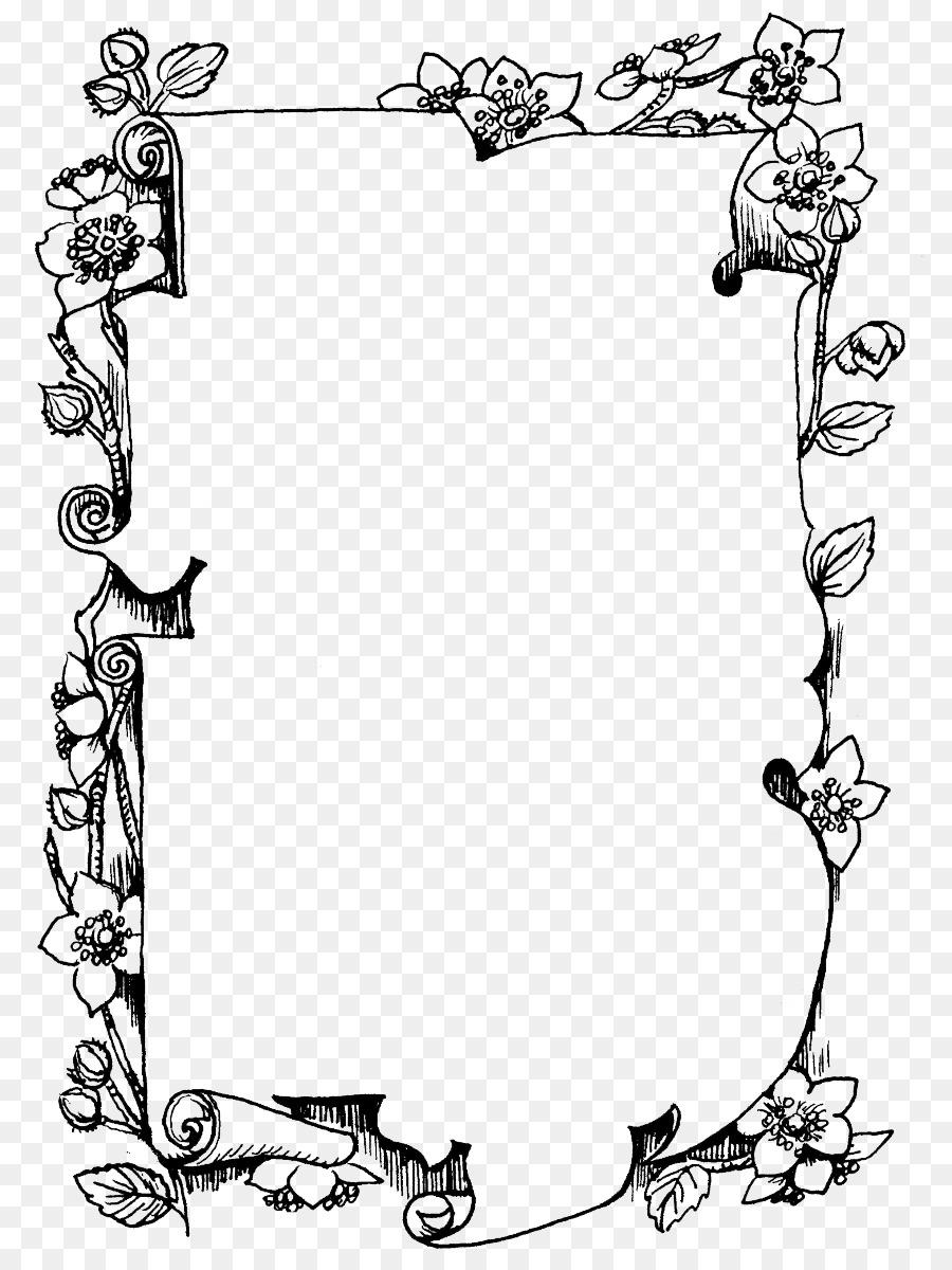Поздравление днем, рамки черно-белые на открытки с днем