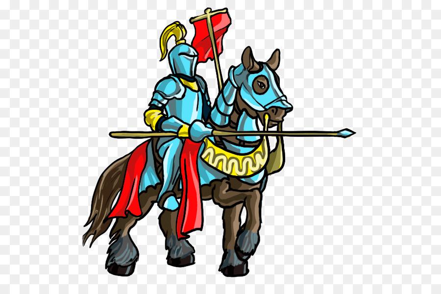 табун лошадей рыцарь рисунок цветной нас