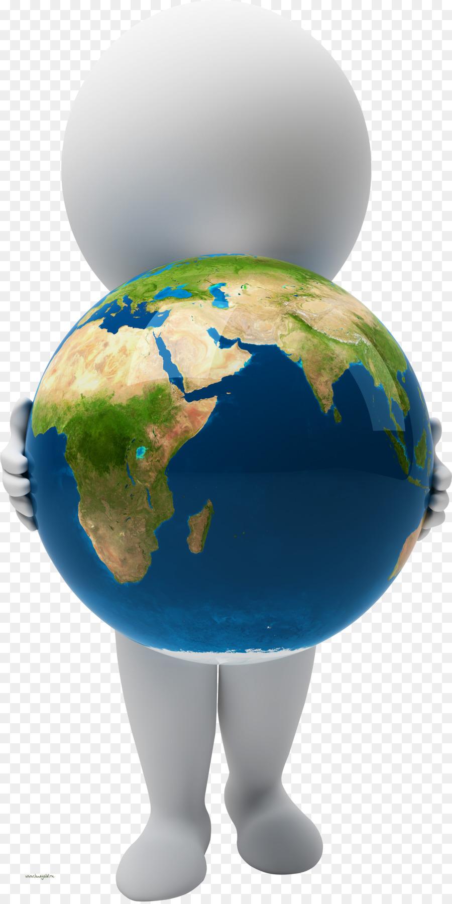 Картинка глобус человек