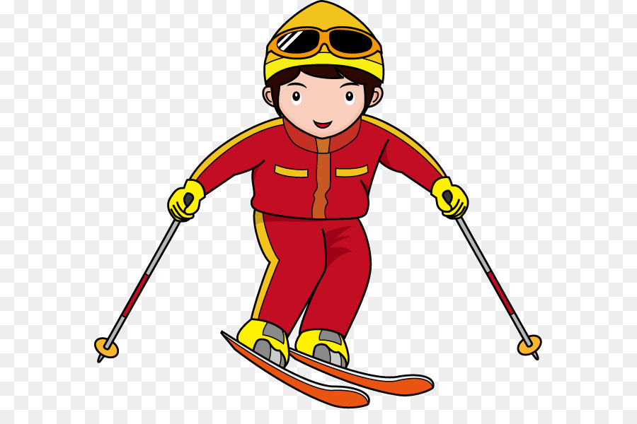 Годовщиной, картинки лыжников для детей