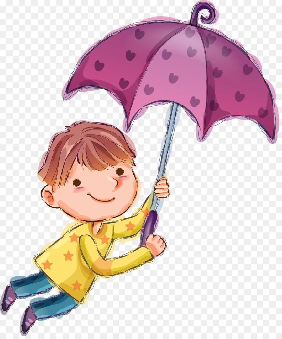 Картинка девочка с мальчиком под зонтом