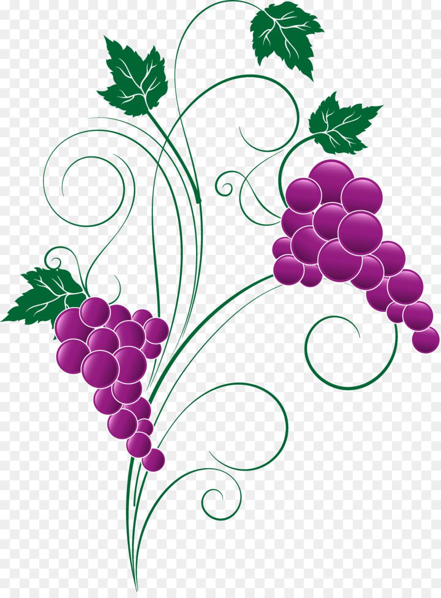 узор виноград картинки этим замечательным