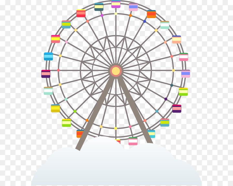 картинка колесо обозрения без фона создано множество