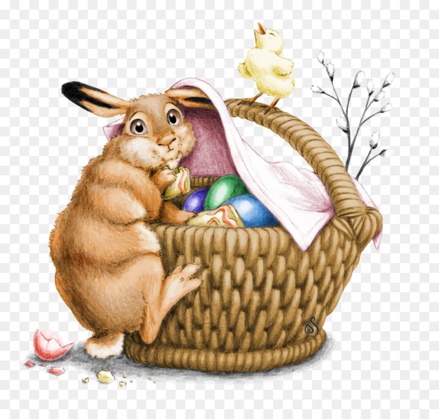 Кролики пасхальные картинки рисованные, все будет
