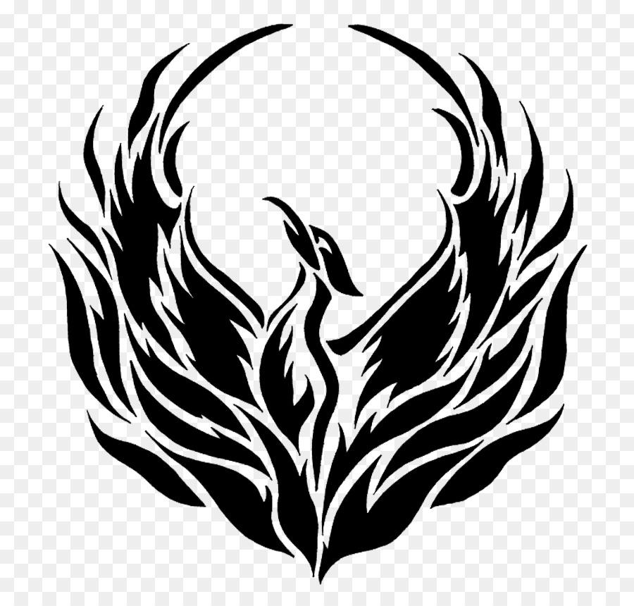 черно белые картинки феникса смело открывайте