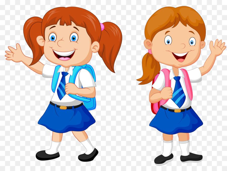 Картинки детей в школьной форме нарисованные
