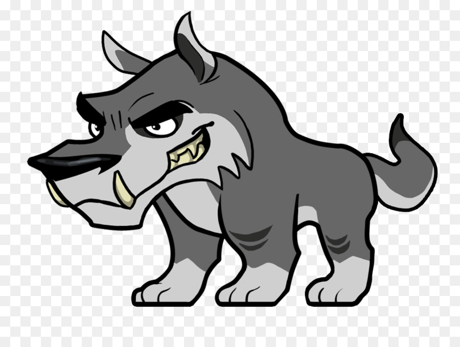 Картинка пнг волк мультяшный