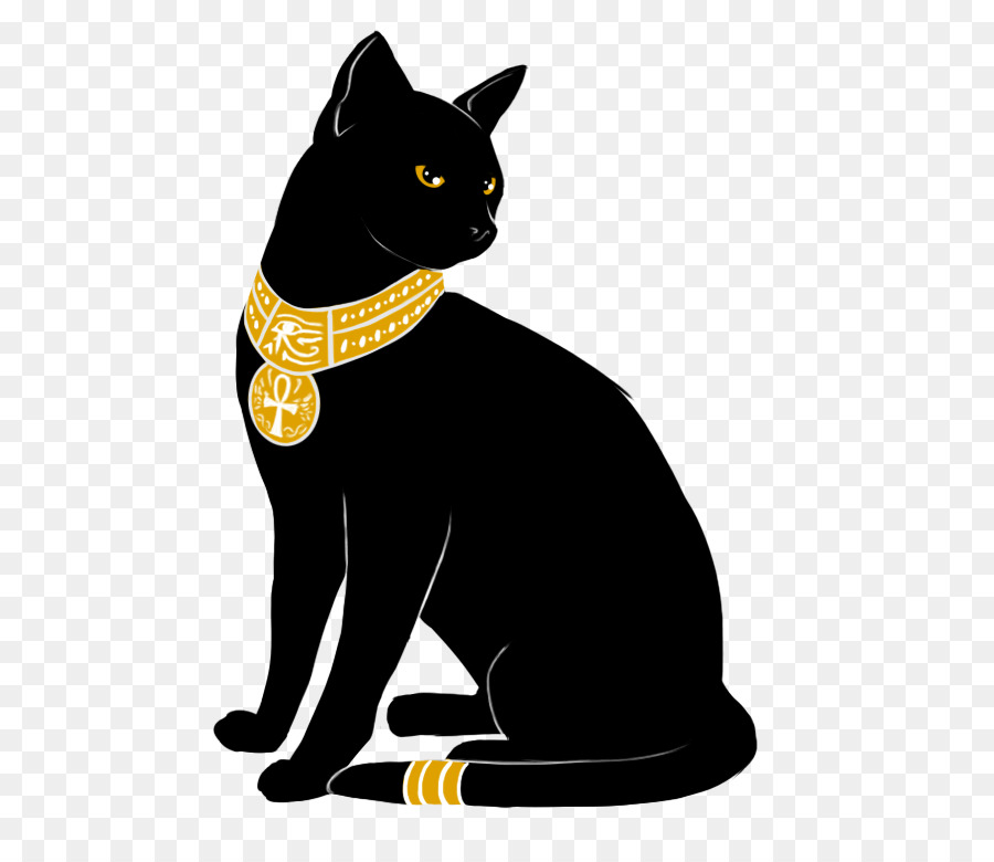 напечатаем коты в египте рисунок использовала