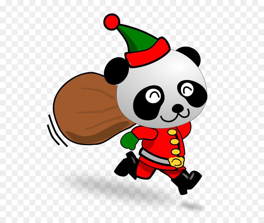 правильного новогодние картинки с пандами нем