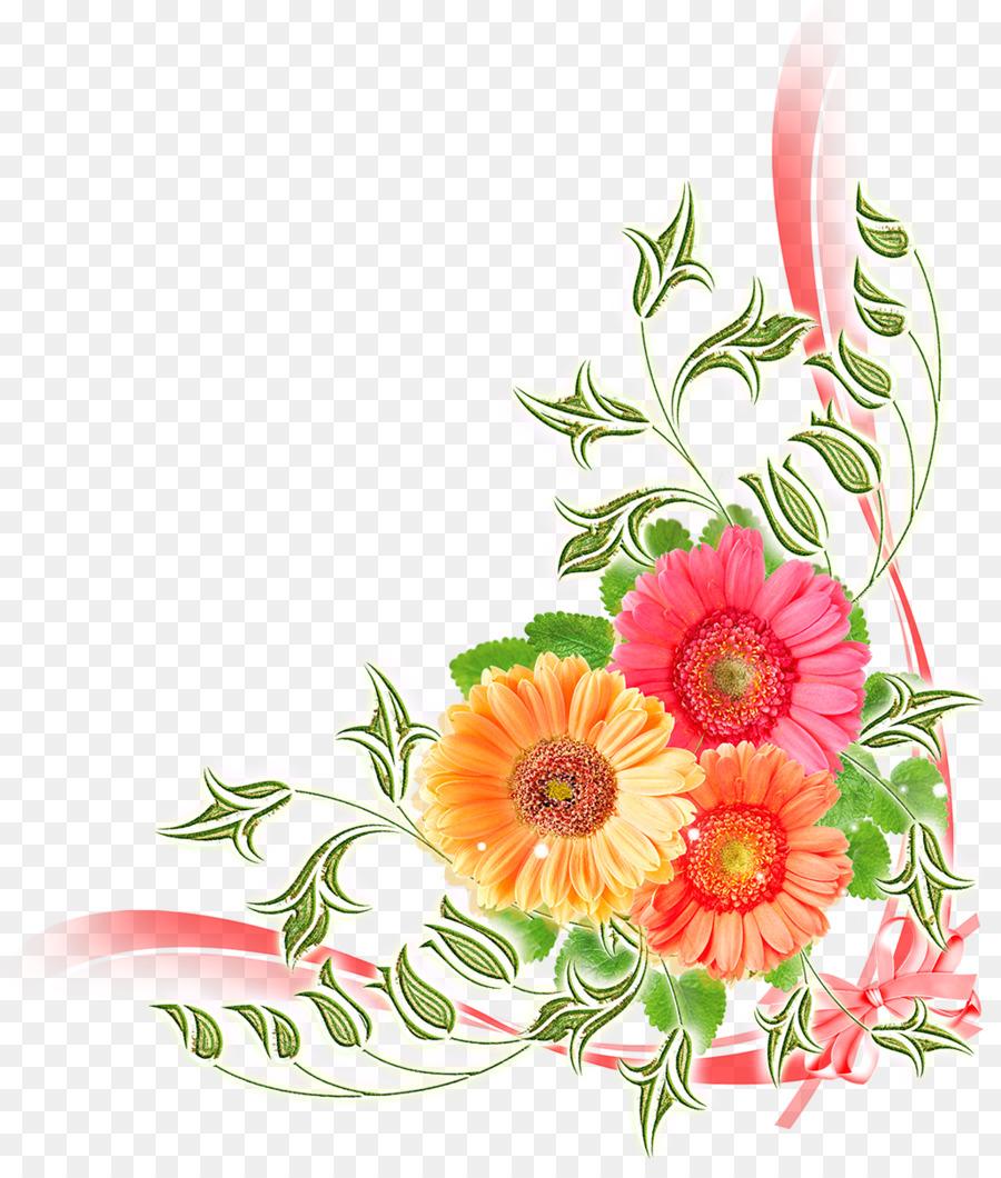 Цветы на открытку прозрачный фон