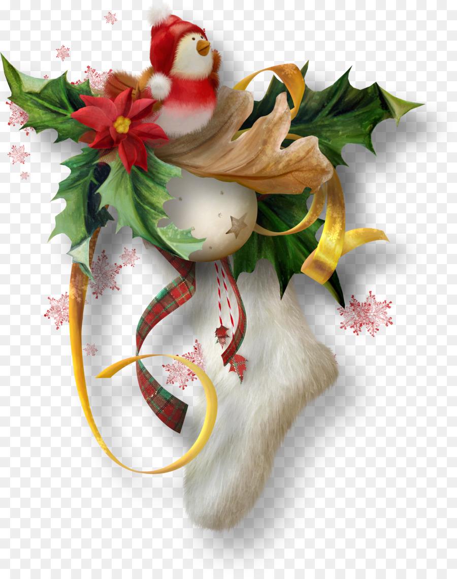 День, открытка с символами рождества