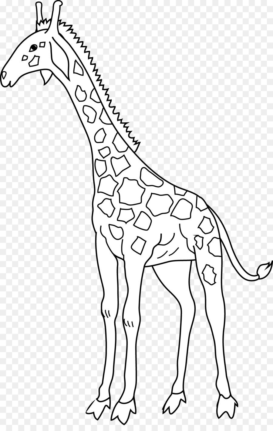 жираф картинка простая наступила пора