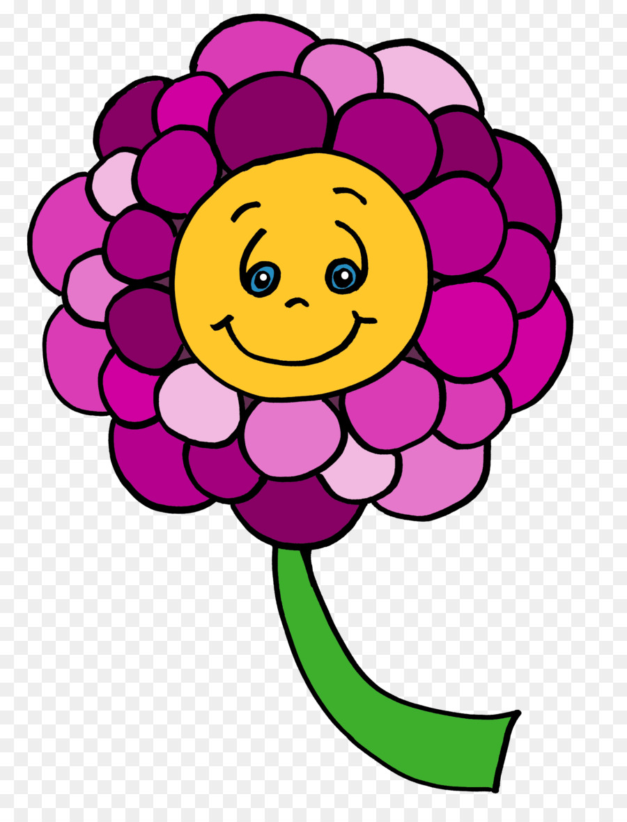 Картинка улыбающийся цветочек