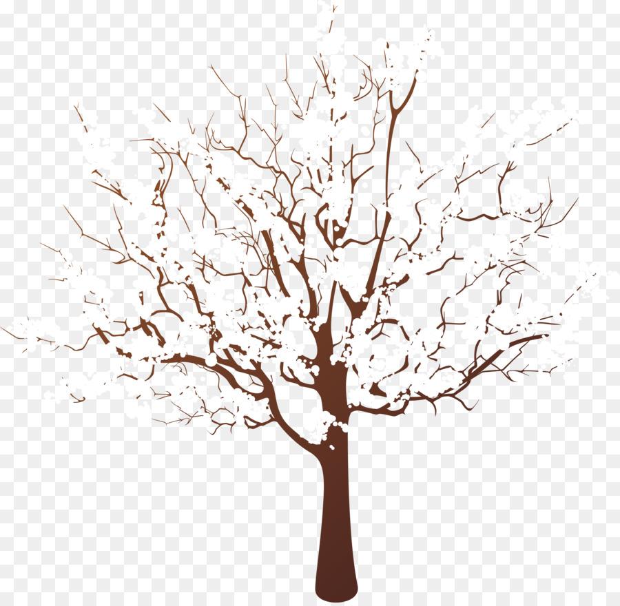Картинка деревья в снегу на прозрачном фоне для детей
