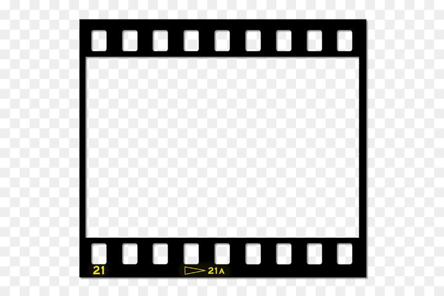 Пустой фотокадр на пленке