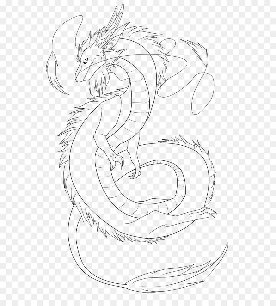 японский дракон картинки легкие простому, изящному крою