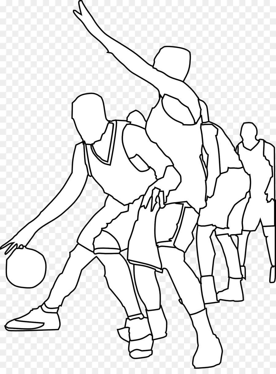 спортсмен на картинке для рисования вроде