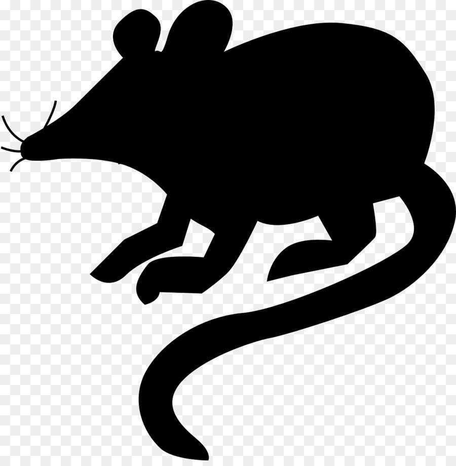 картинка силуэт крысы пробкам хвосты делают