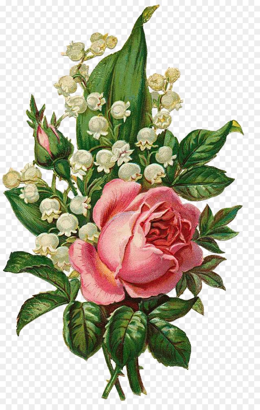 Мини открытки розы