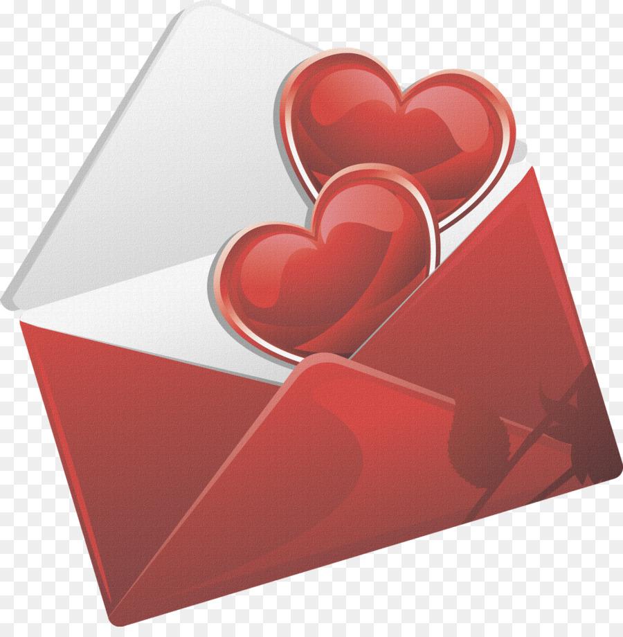 Открытки с конвертом и сердечками, начальнику днем